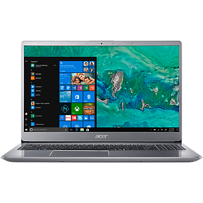 Image of Acer Swift 3 SF315-52G Laptop, Intel Core i7, 8GB RAM + 16GB Intel Optane, 1TB HDD, 15.6, 4G/LTE/ACPC, Sparkly Silver
