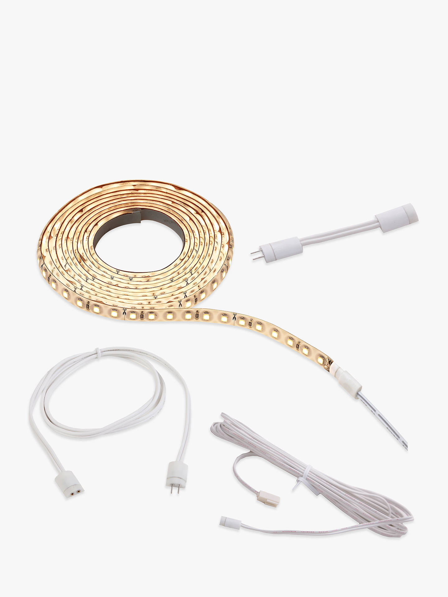 BuySensio Viva LED Flexible Light Strip Add-On Pack, 2m, Warm White Online at johnlewis.com