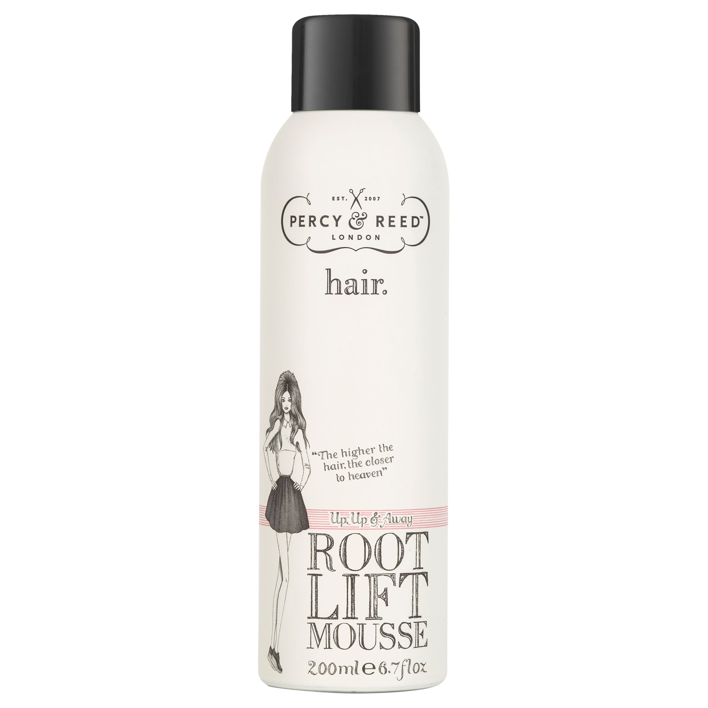 Percy & Reed Percy & Reed Up, Up & Away Root Lift Mousse, 200ml