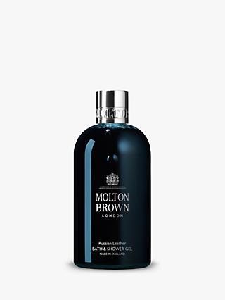 Molton Brown Russian Leather Bath & Shower Gel, 300ml
