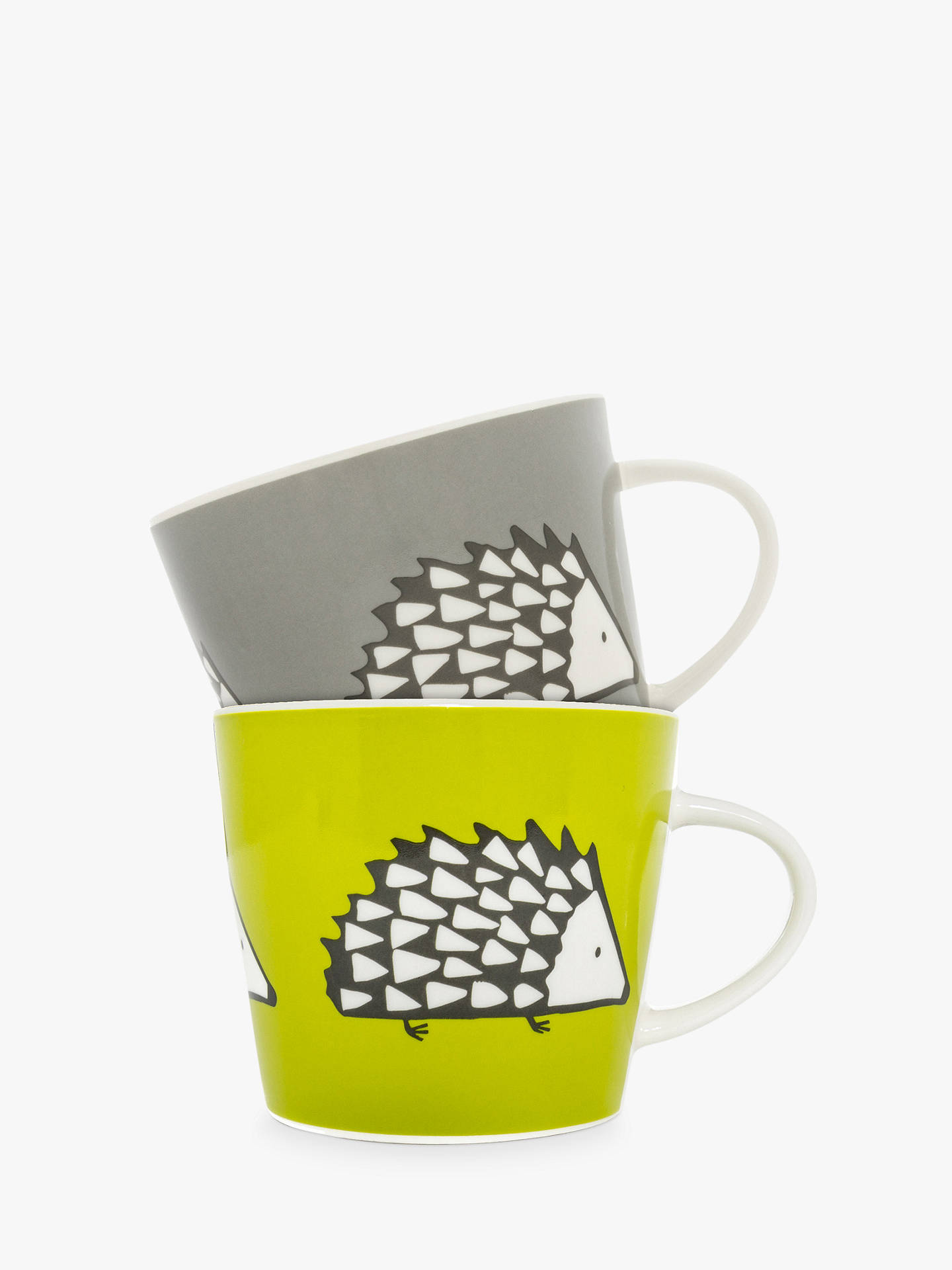 BuyScion Spike The Hedgehog Mugs, Set of 2, 350ml, Assorted Online at johnlewis.com