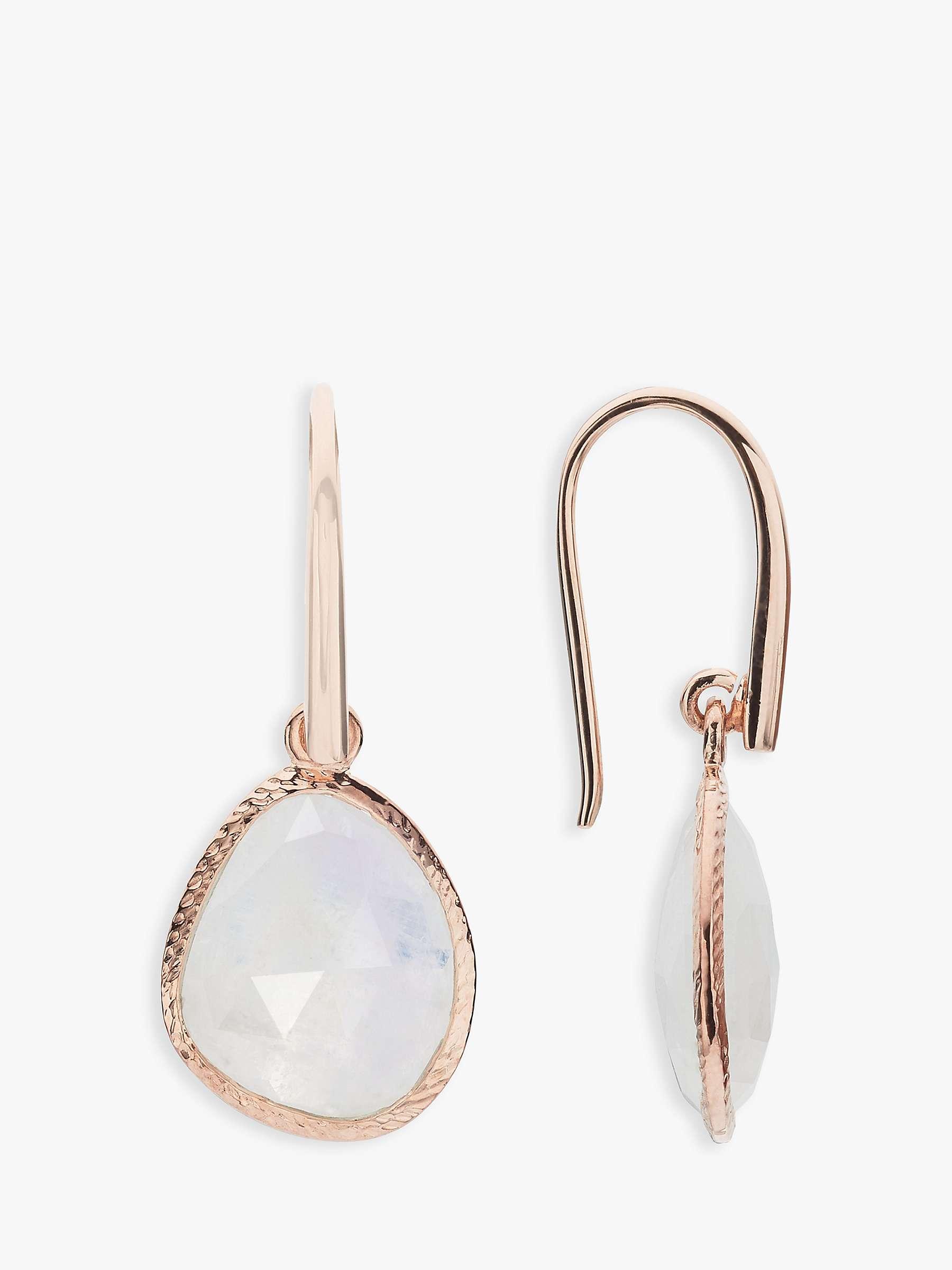 John Lewis Partners Gemstones Hook Drop Earrings