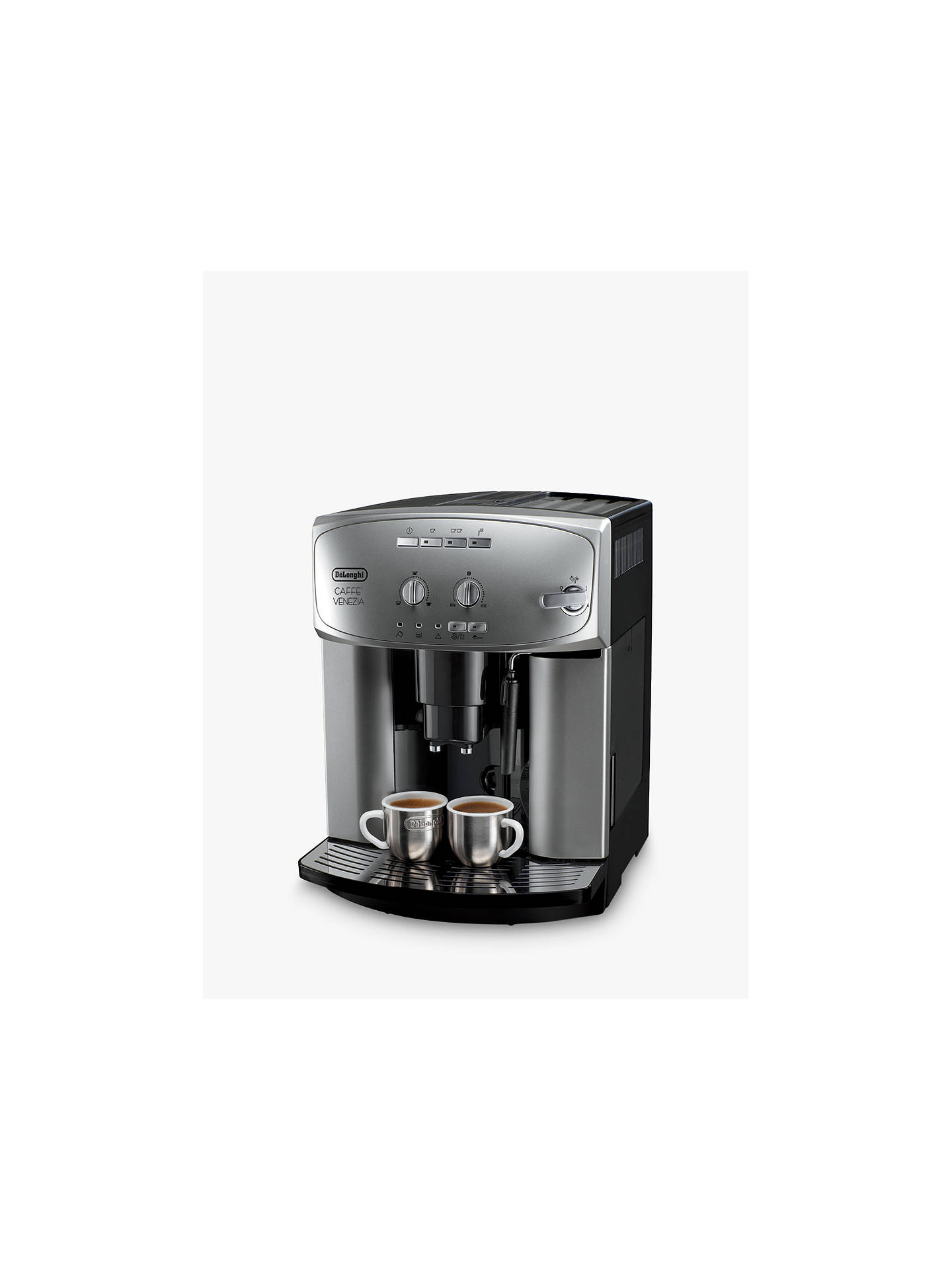 Buy De'Longhi ESAM2200 Venezia Bean-to-Cup Coffee Machine, Silver Online at johnlewis.com