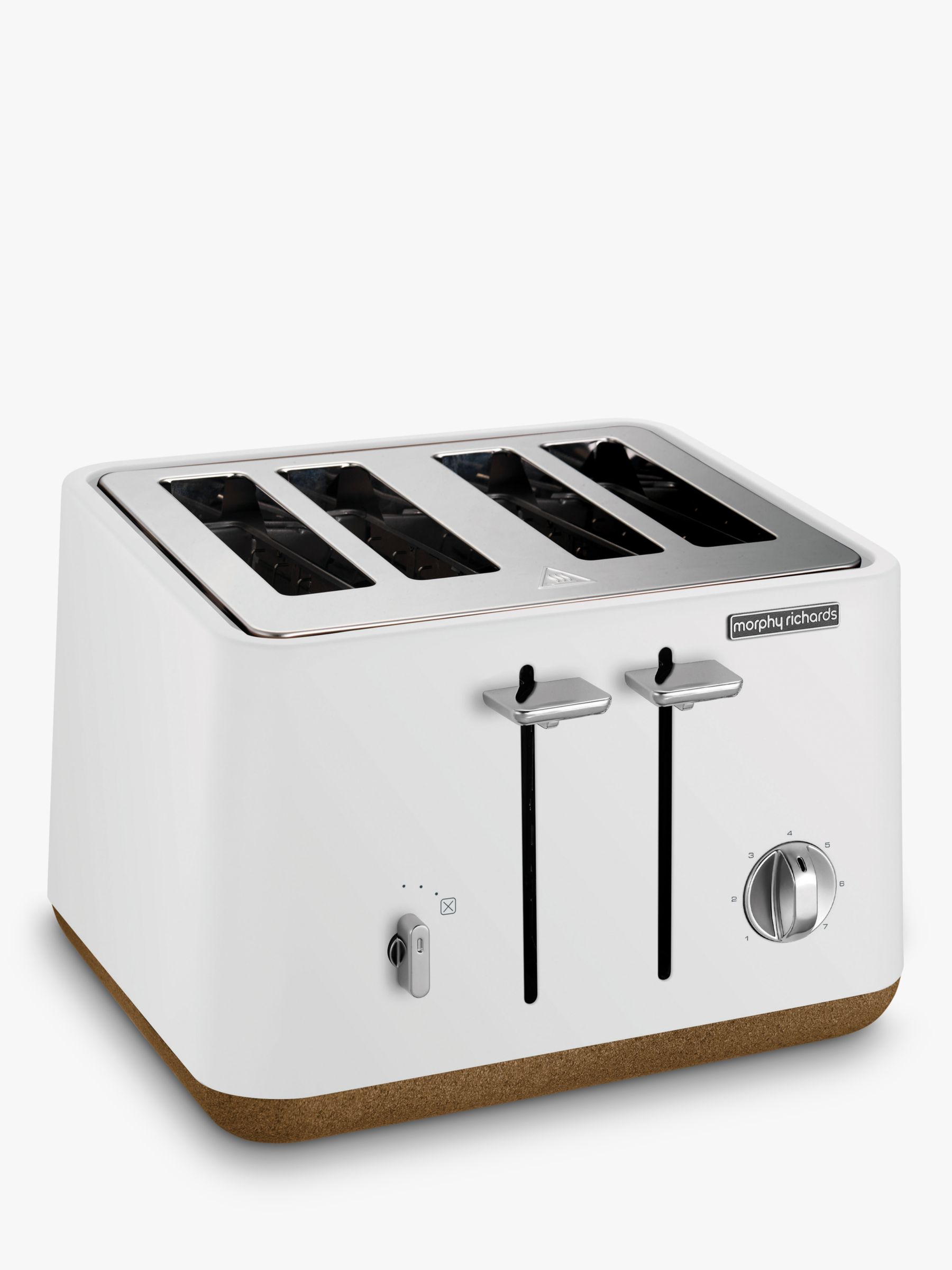 Morphy Richards Morphy Richards Aspect 4-Slice Toaster, White