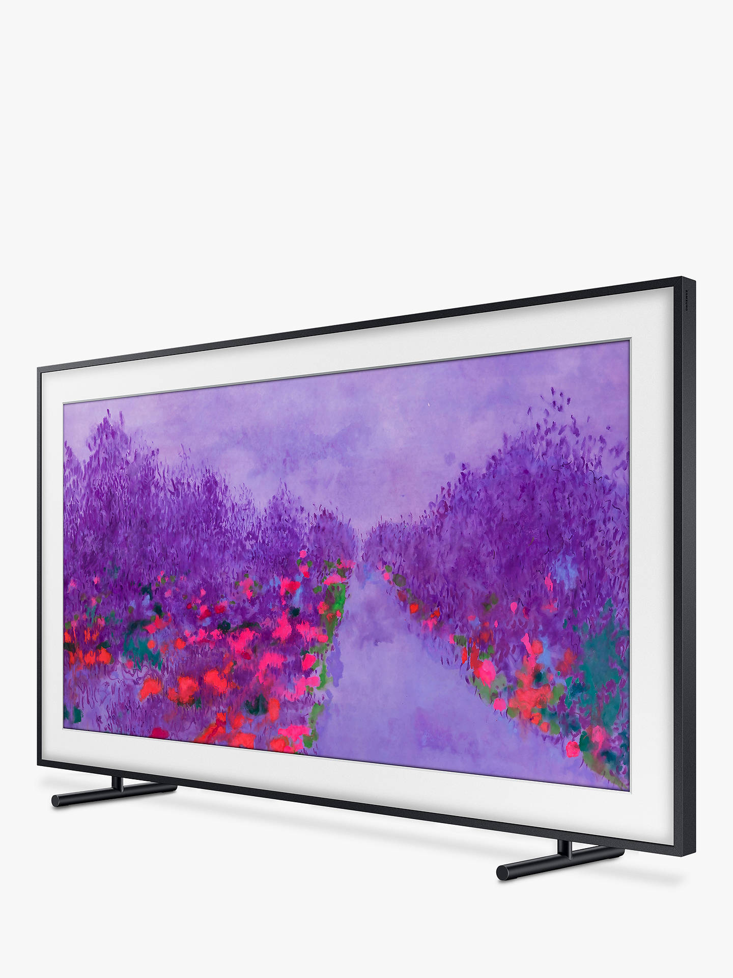 "BuySamsung The Frame (2018) Art Mode TV with No-Gap Wall Mount, 65"", Ultra HD Certified Online at johnlewis.com"