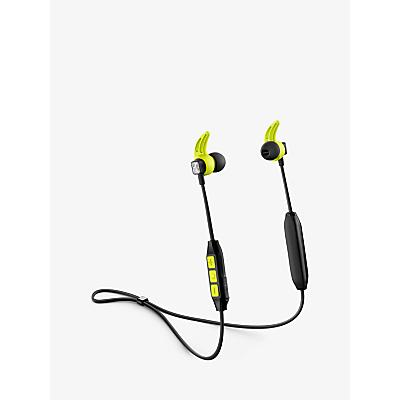 Image of Sennheiser CX SPORT Wireless Bluetooth Splash Resistant Sports In-Ear Headphones with Mic/Remote, Black