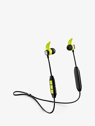Sennheiser CX SPORT Wireless Bluetooth Splash Resistant Sports In-Ear Headphones with Mic/Remote, Black