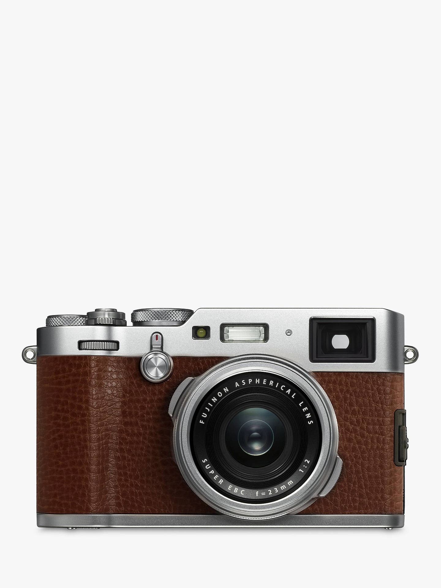 Fujifilm X100F Digital Compact Camera with 23mm Lens, 1080p Full HD,  24 3MP, Wi-Fi, Hybrid EVF/OVF, 3