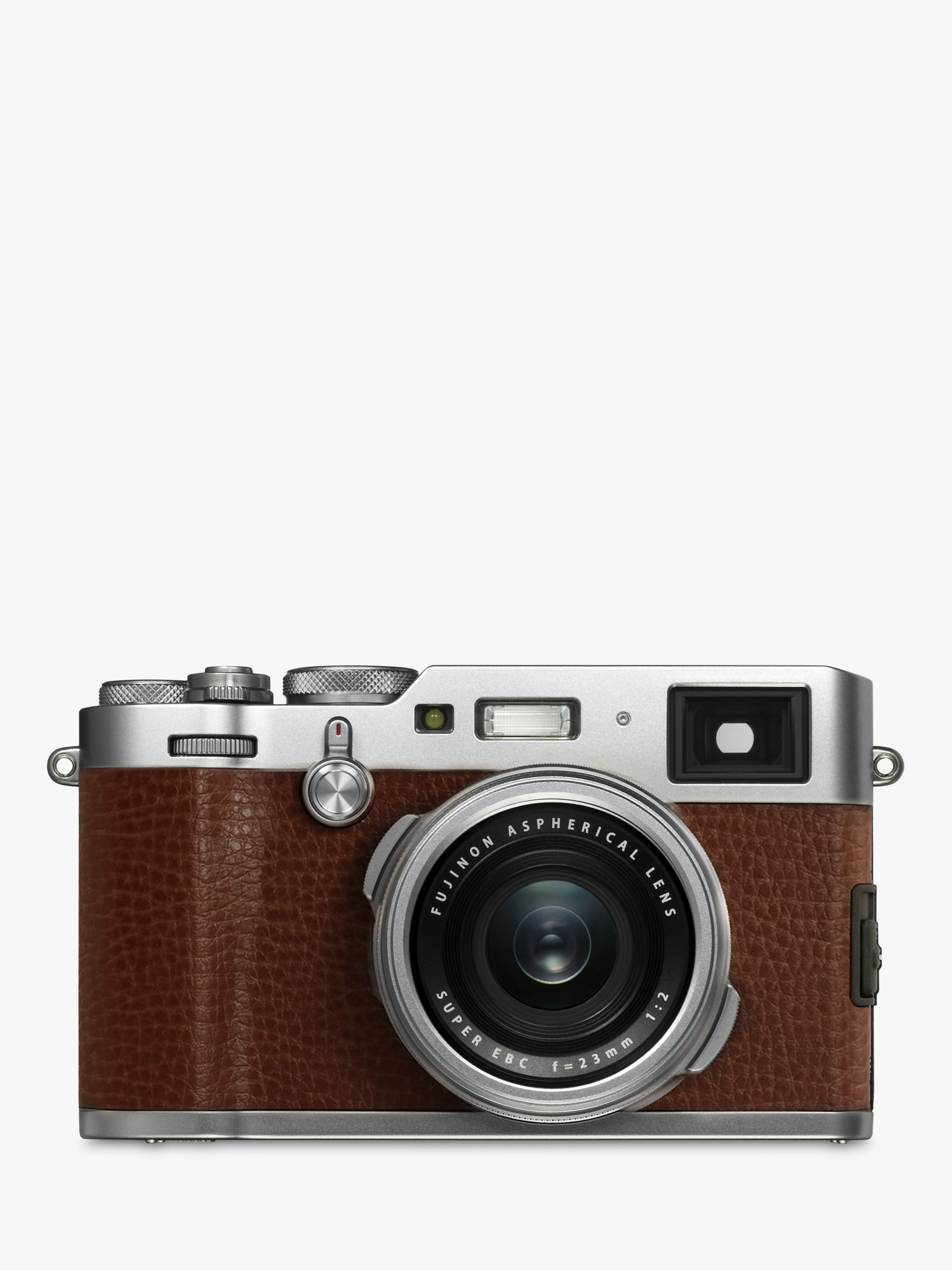 Fujifilm Fujifilm X100F Digital Compact Camera with 23mm Lens, 1080p Full HD, 24.3MP, Wi-Fi, Hybrid EVF/OVF, 3 LCD Screen, Brown