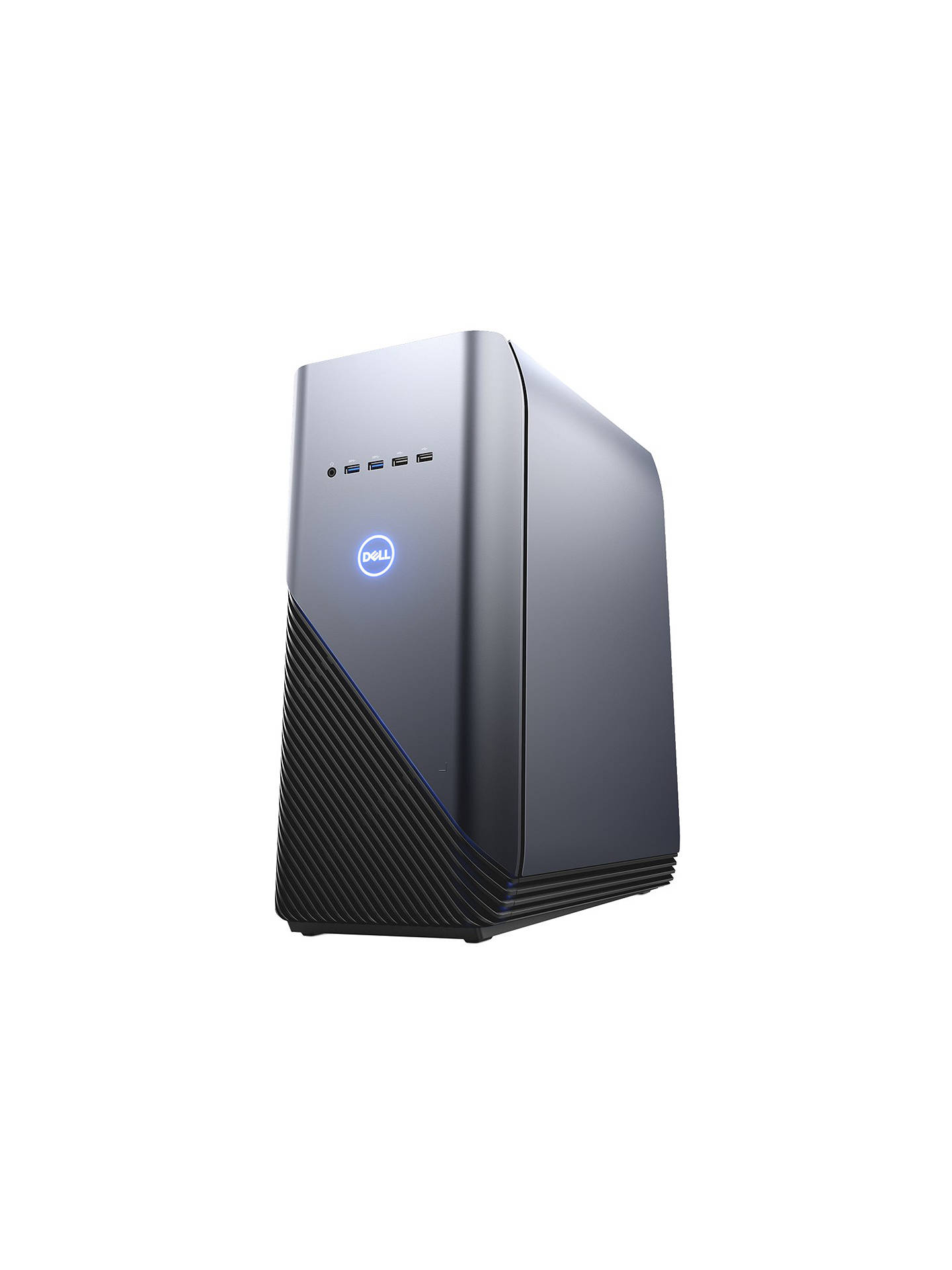 BuyDell Inspiron 5680 Tower PC, Intel Core i7, 8GB, 1TB HDD + 128GB SSD, NVIDIA GTX 1060, Recon Blue Online at johnlewis.com