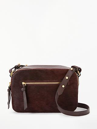 John Lewis Partners Hana Leather Camera Cross Body Bag