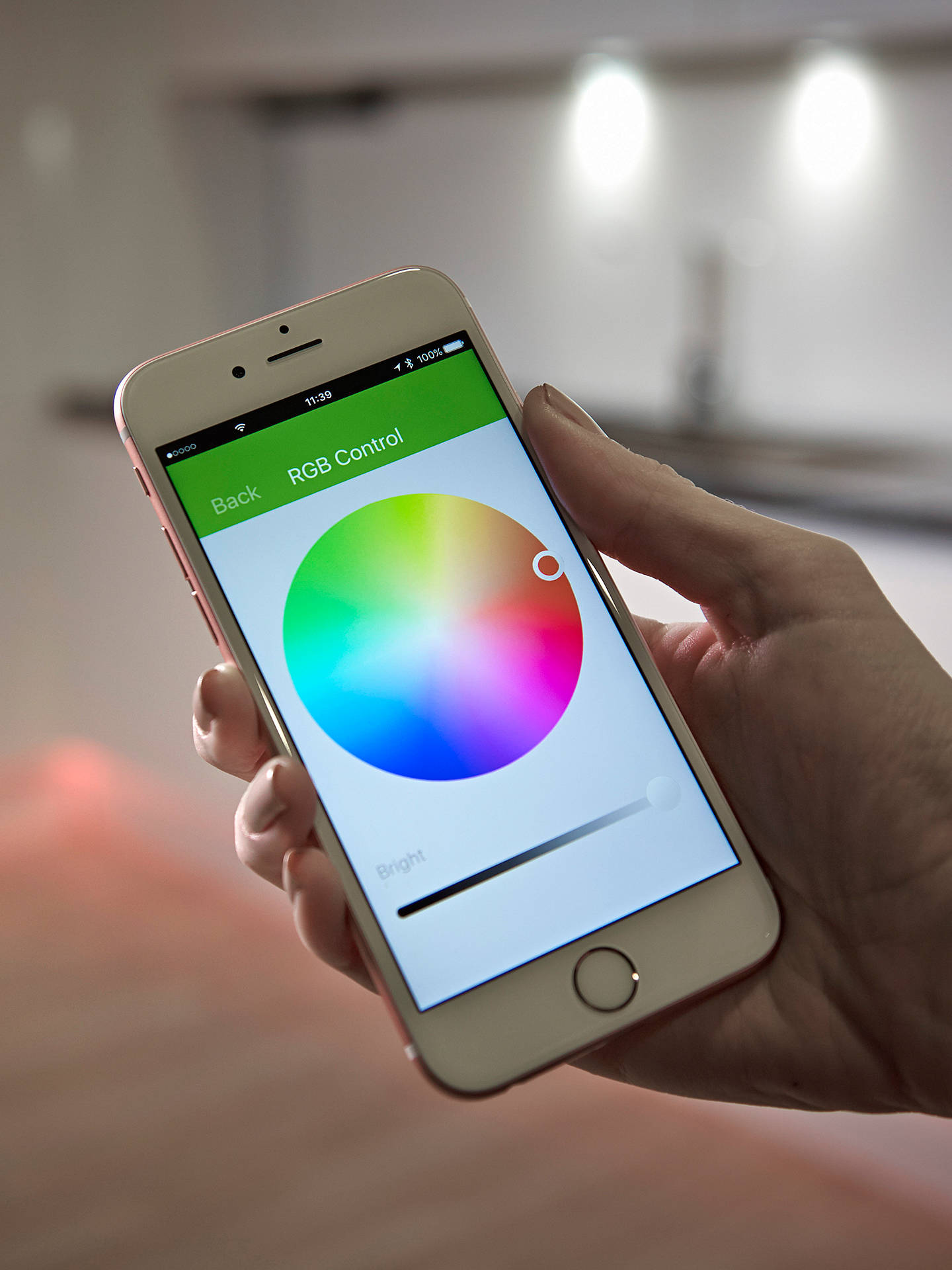 Buy Sensio Multi-Light RGB Bluetooth Receiver Online at johnlewis.com
