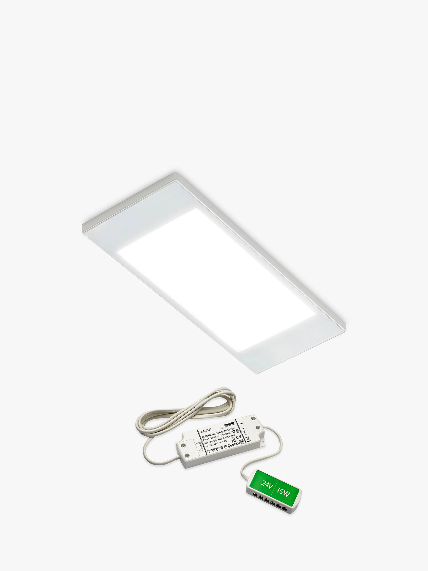 BuySensio PAD2 Prismatic LED Kitchen Light Pack, Cool White Online at johnlewis.com