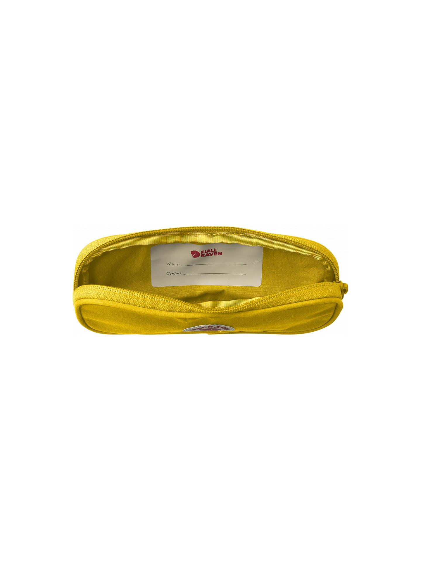 Fjallraven Kanken Pen Case Warm Yellow