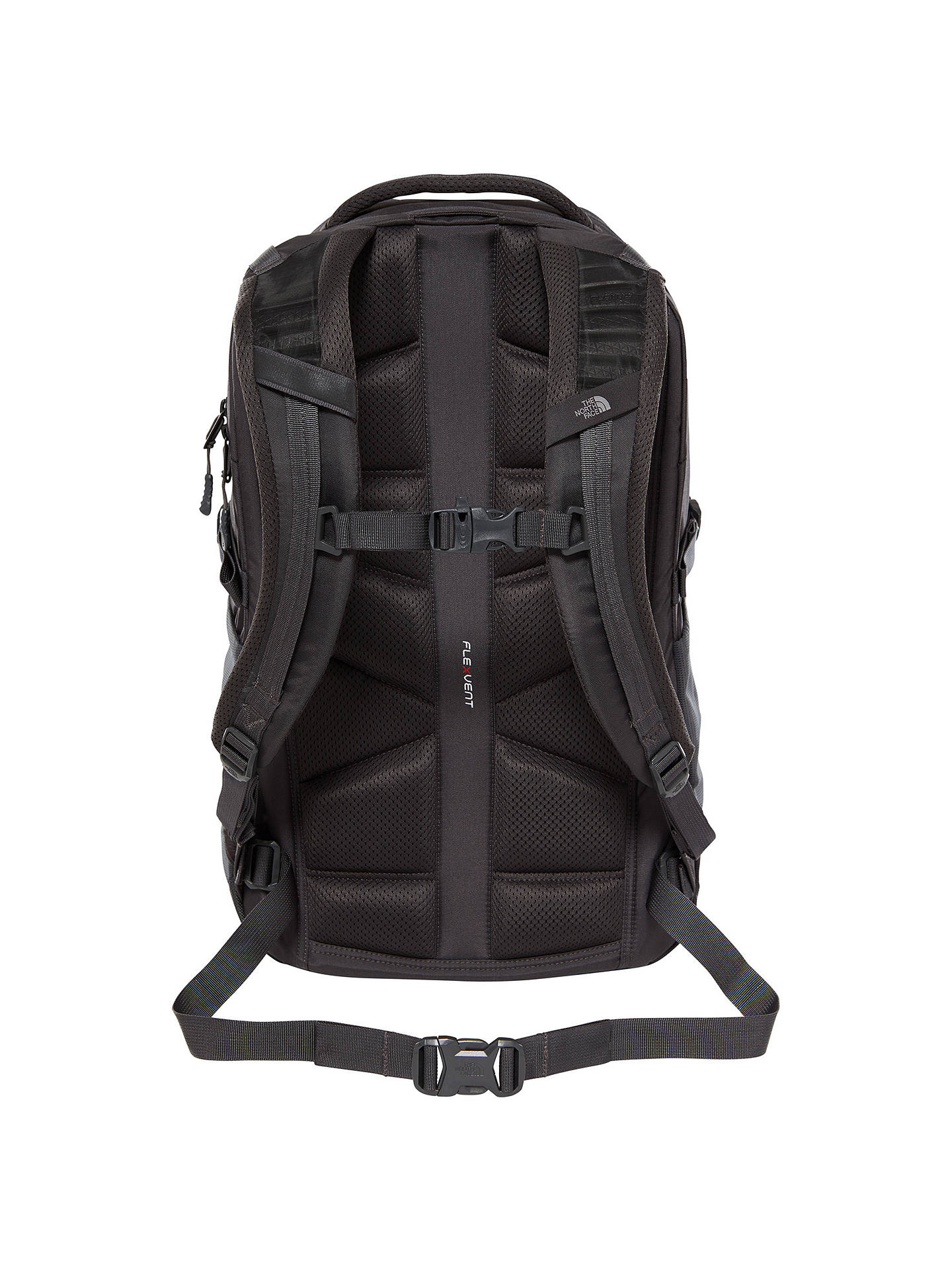 Buy The North Face Borealis Day Backpack, Asphalt Grey/Green Online at johnlewis.com
