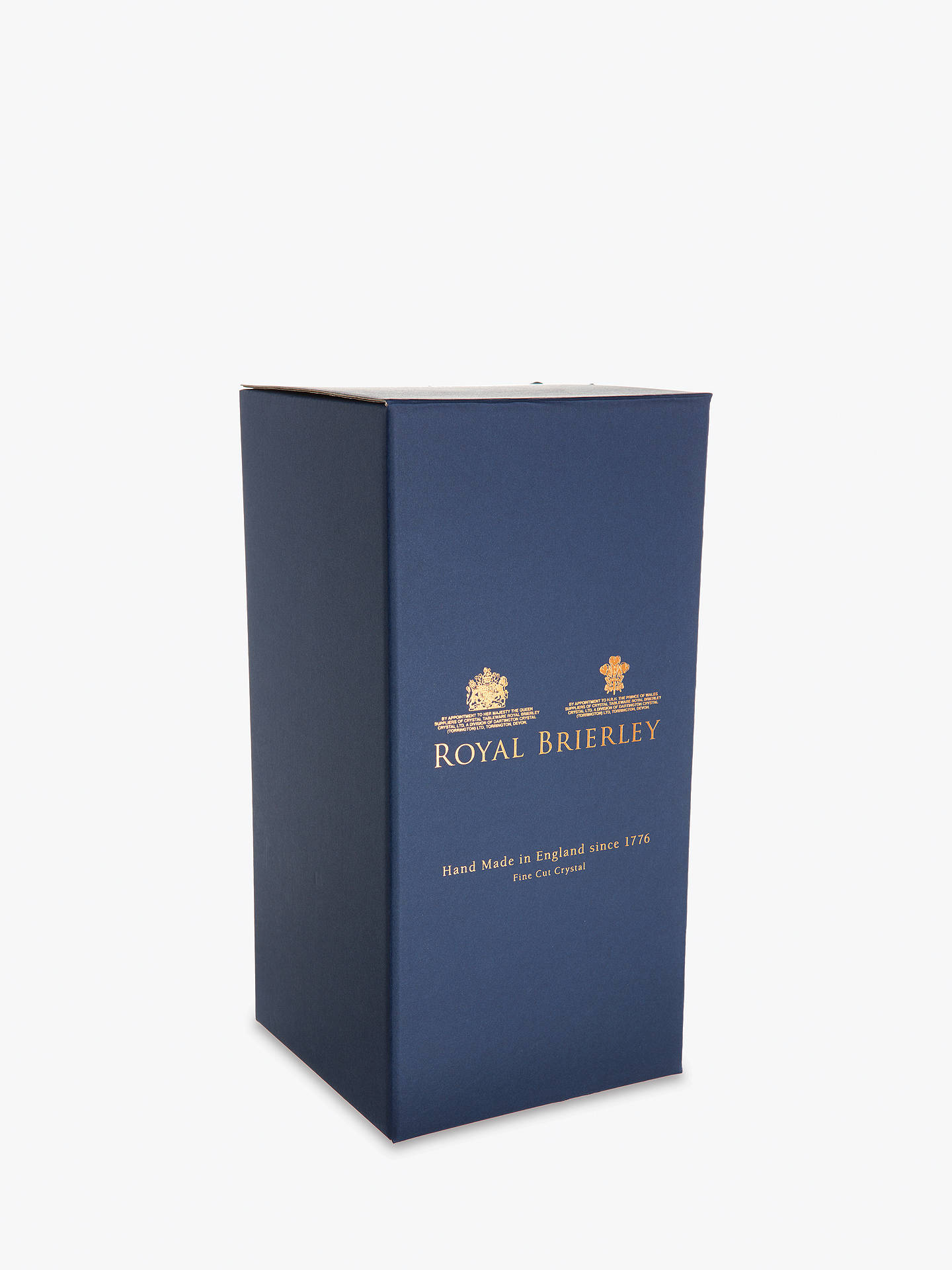 Buy Royal Brierley Bruce Vase, H20cm Online at johnlewis.com