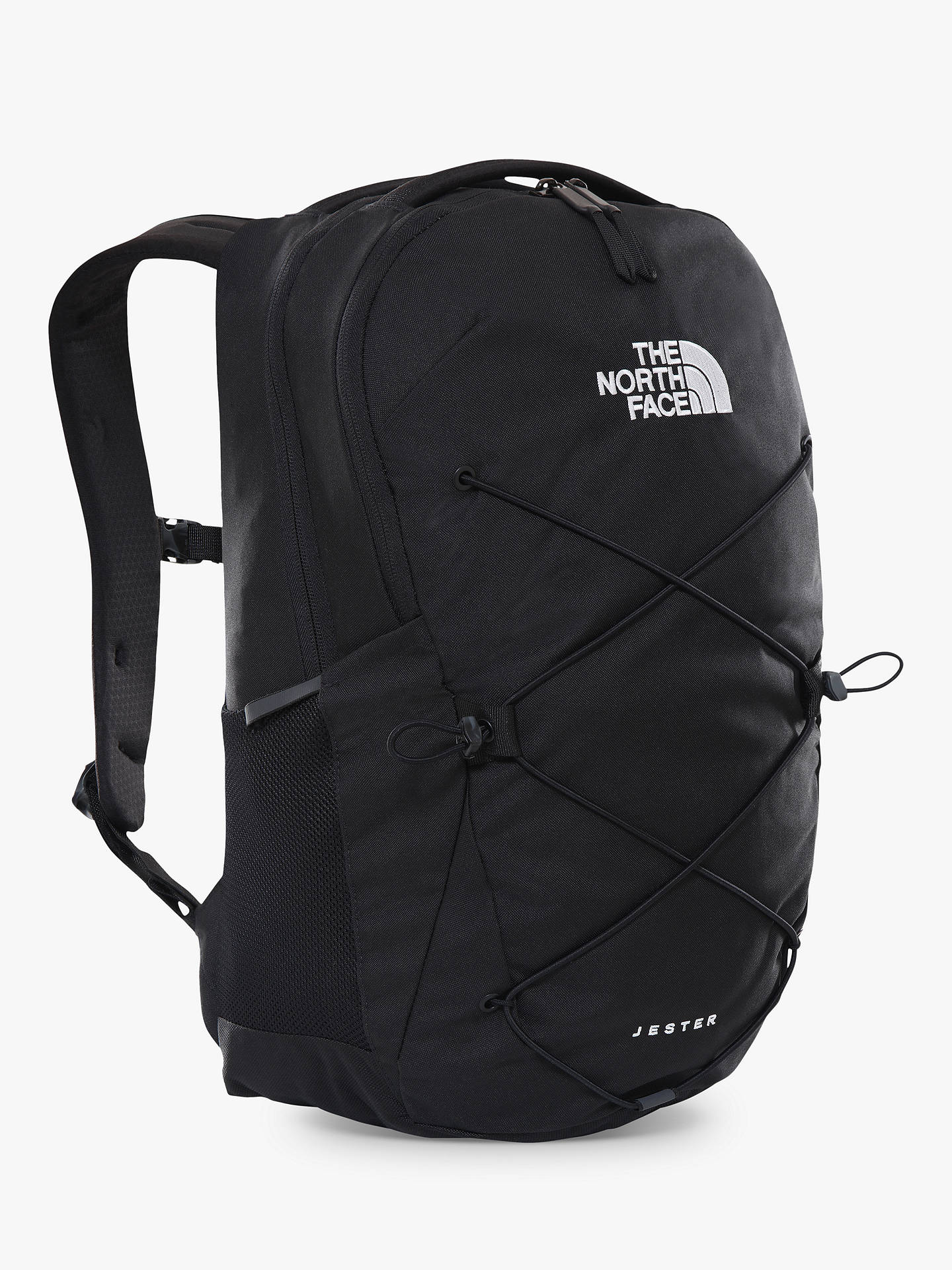 77c3287644 Buy The North Face Jester Day Backpack, Black Online at johnlewis.com ...