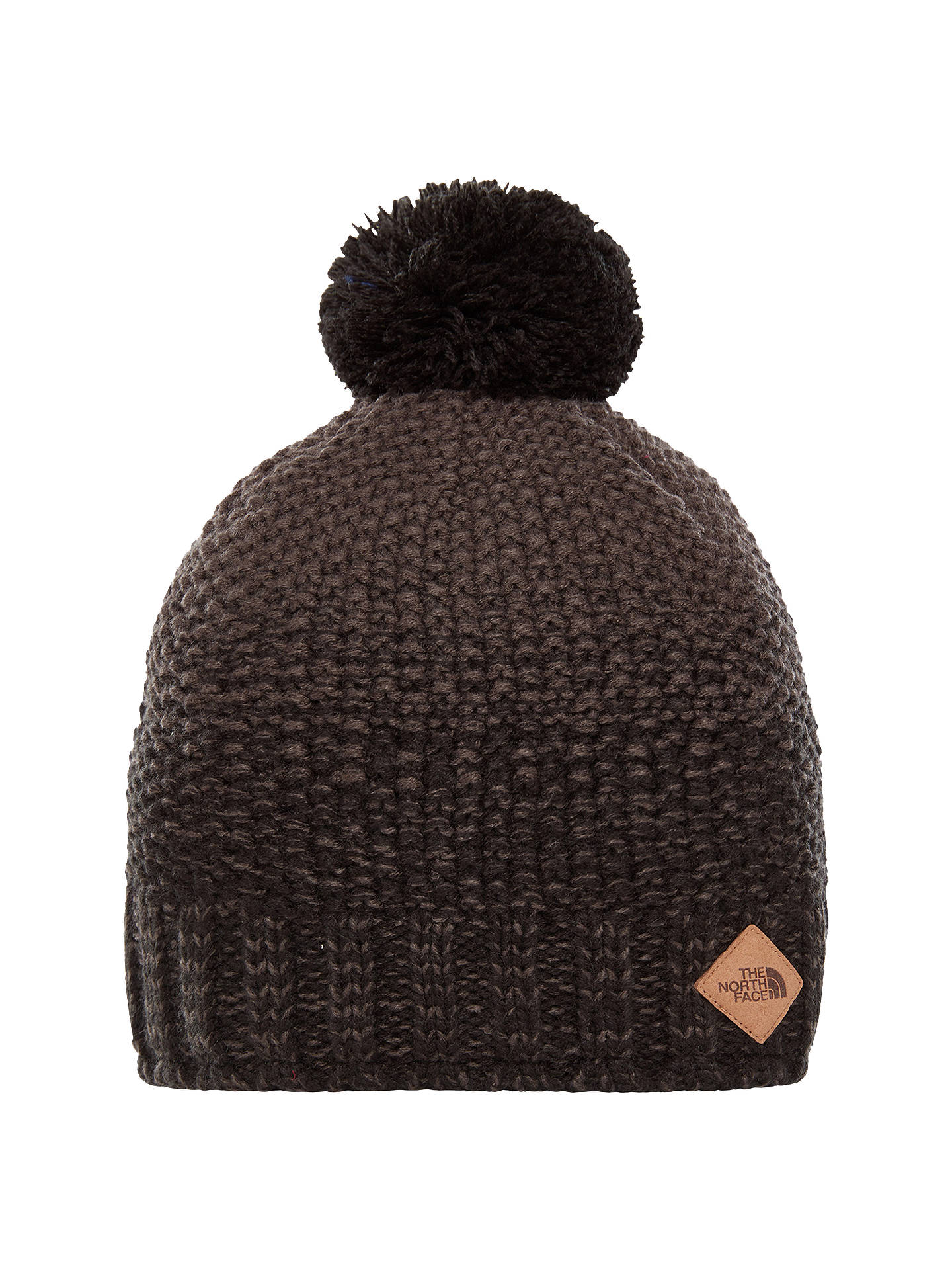 Buy The North Face Antlers Beanie, Black/Grey Online at johnlewis.com