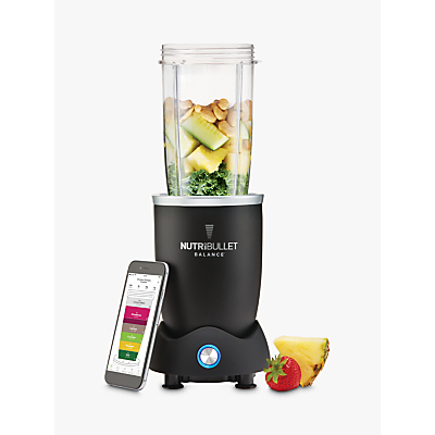 NutriBullet Balance Smart Food Blender, Black