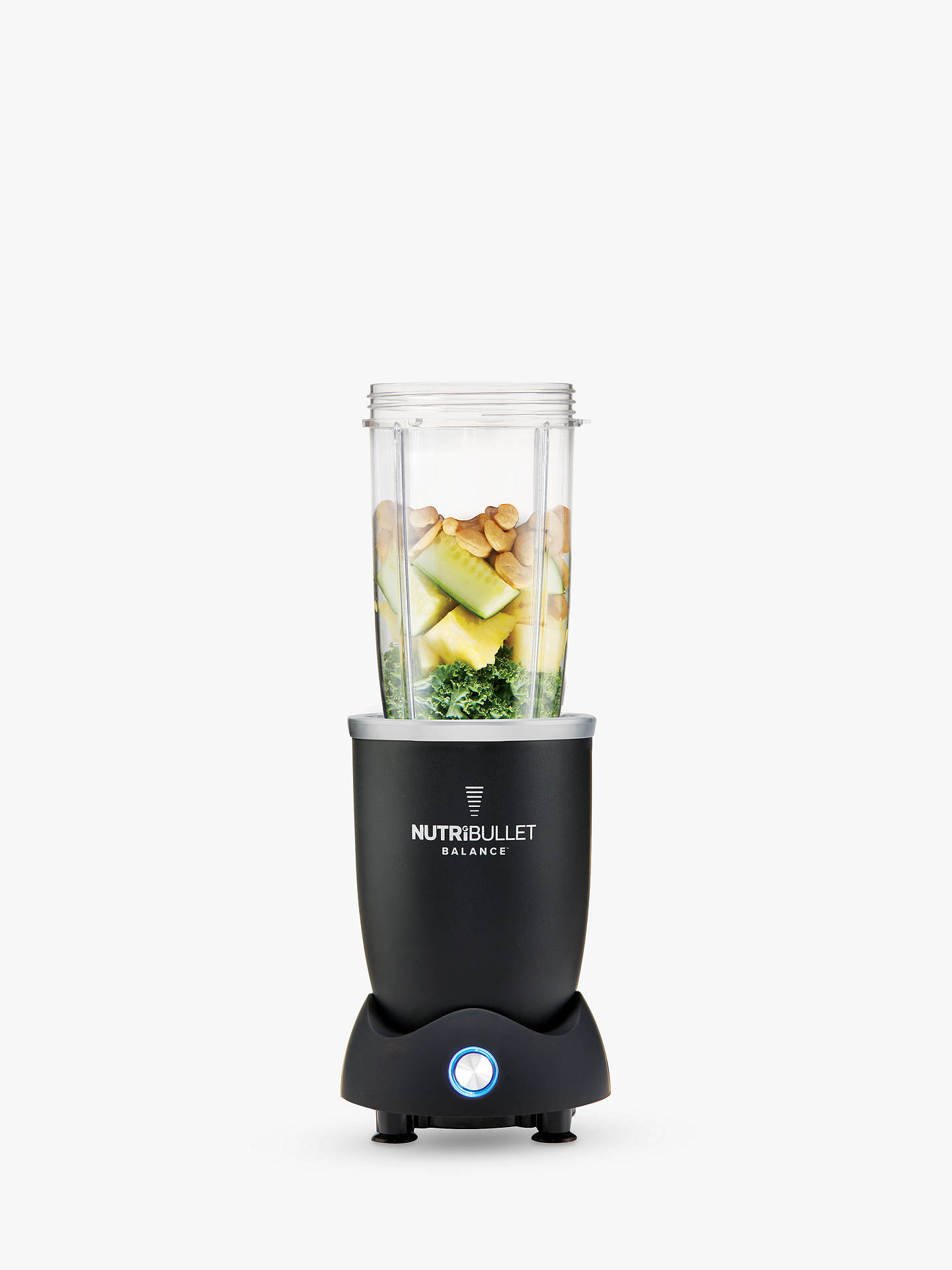 Buy NutriBullet Balance Smart Food Blender, Black Online at johnlewis.com