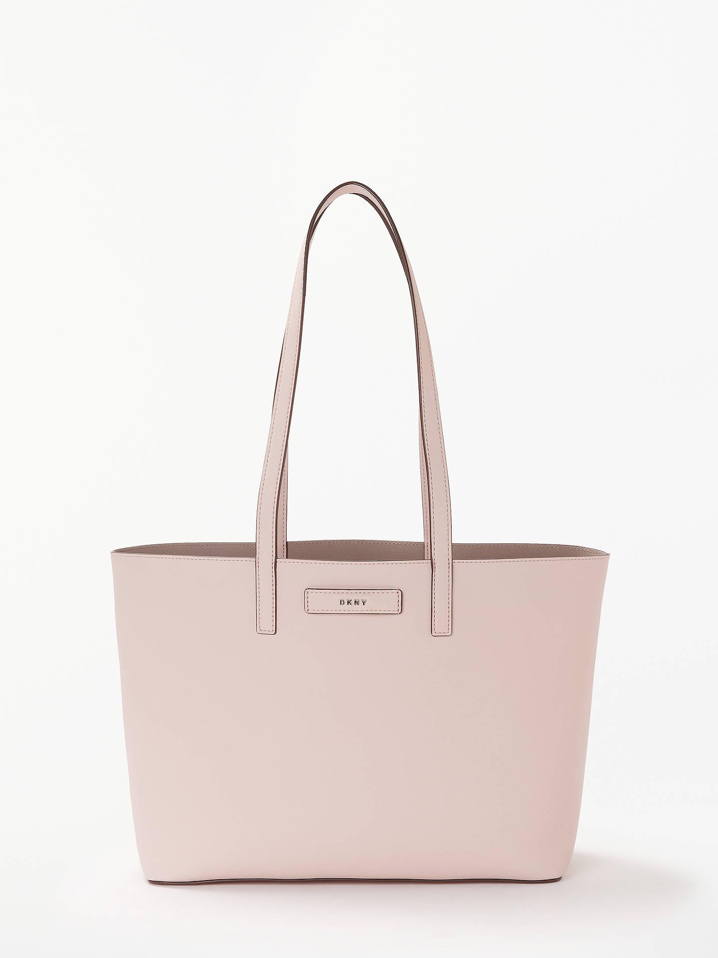 97ab1764a4094 Buy DKNY Brayden Medium Reversible Tote Bag, Iconic Blush/Multi Online at  johnlewis.