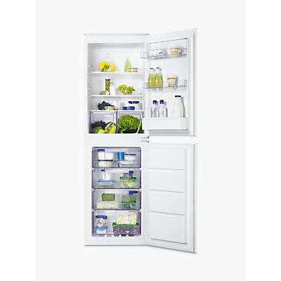 Zanussi ZBB27640SV Integrated Fridge Freezer, A+ Energy Rating, 54cm Wide, White