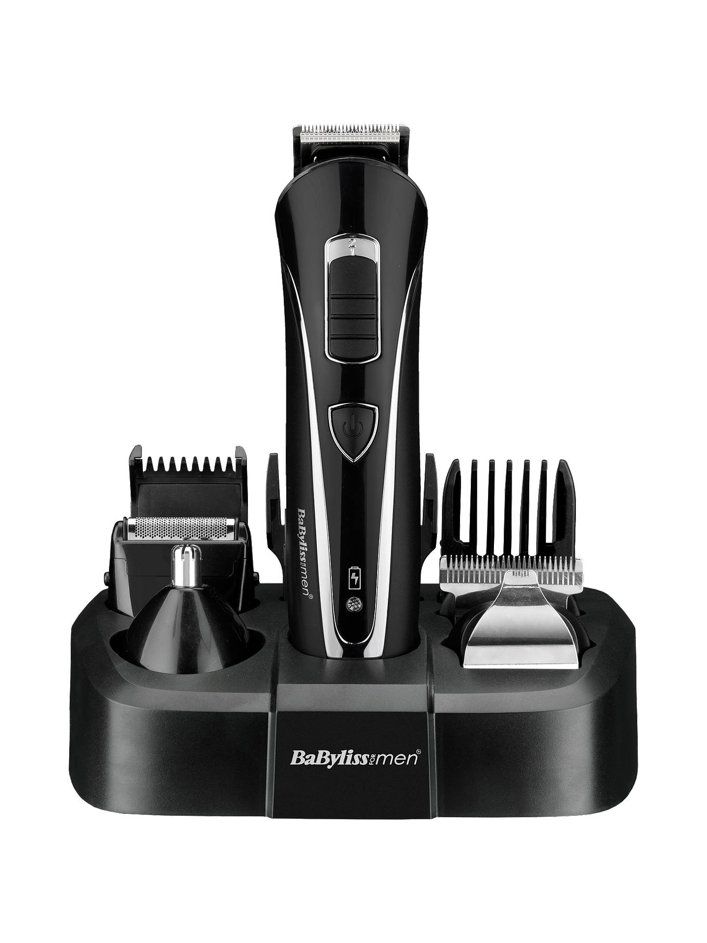 BuyBaByliss for Men Carbon Face and Body Groomer, Black Online at johnlewis.com