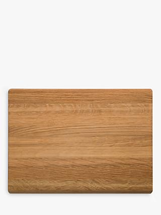 Robert Welch Oak Wood Chopping Board, 30cm