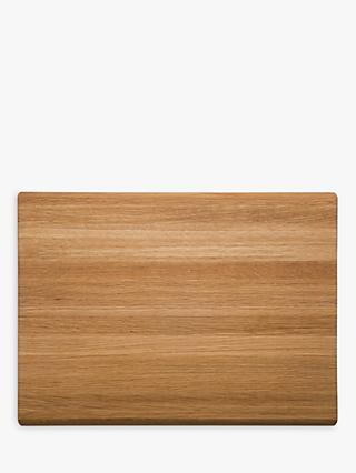 Robert Welch Oak Wood Chopping Board, 38cm