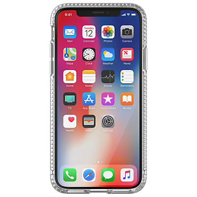 Image of tech21 Pure Clear Case for iPhone X, Clear