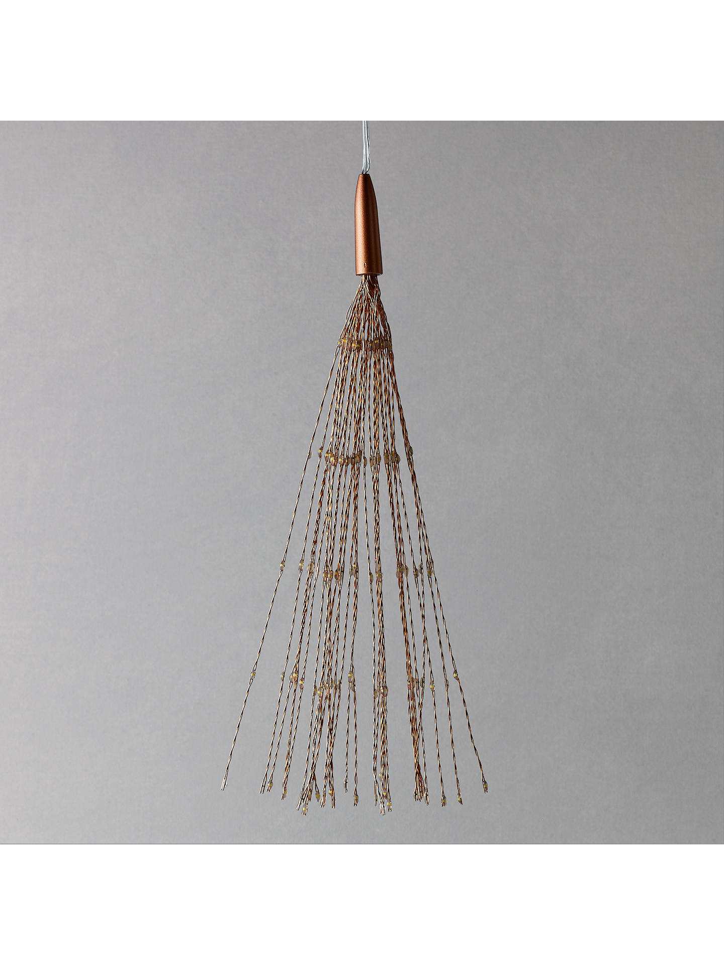 BuyThink Gadgets Starburst Large Hanging Lantern, Copper Online at johnlewis.com