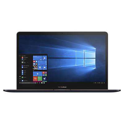"Image of ASUS ZenBook Pro 15 UX550GD-E2041T Laptop, Intel Core i7, 8GB RAM, 512GB SSD, NVIDIA GeForce GTX 1050, 15.6"", Ultra HD Touchscreen, Deep Dive Blue"