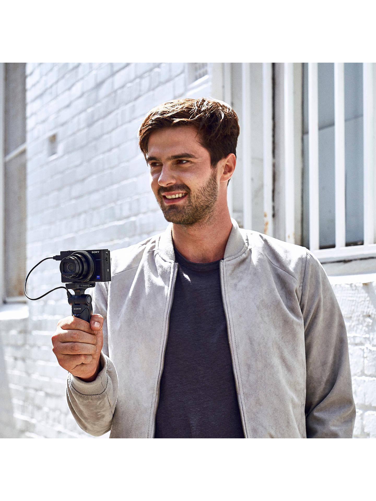Sony Cyber-shot DSC-RX100 VI Camera, 4K, 20 1MP, 8x Optical Zoom, Wi