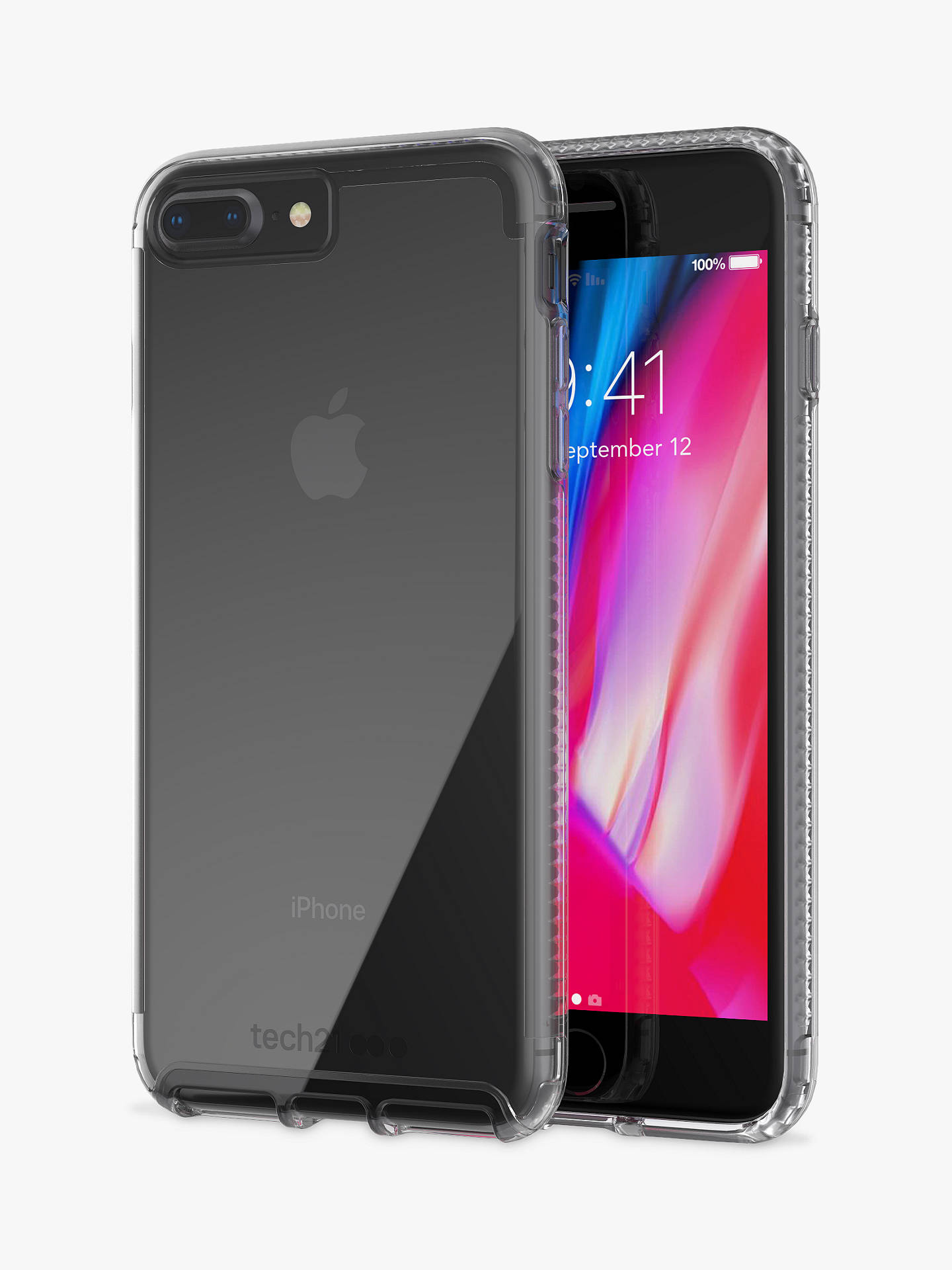 bf45e17548 Buy tech21 Pure Clear Case for iPhone 7 Plus and iPhone 8 Plus, Clear Online