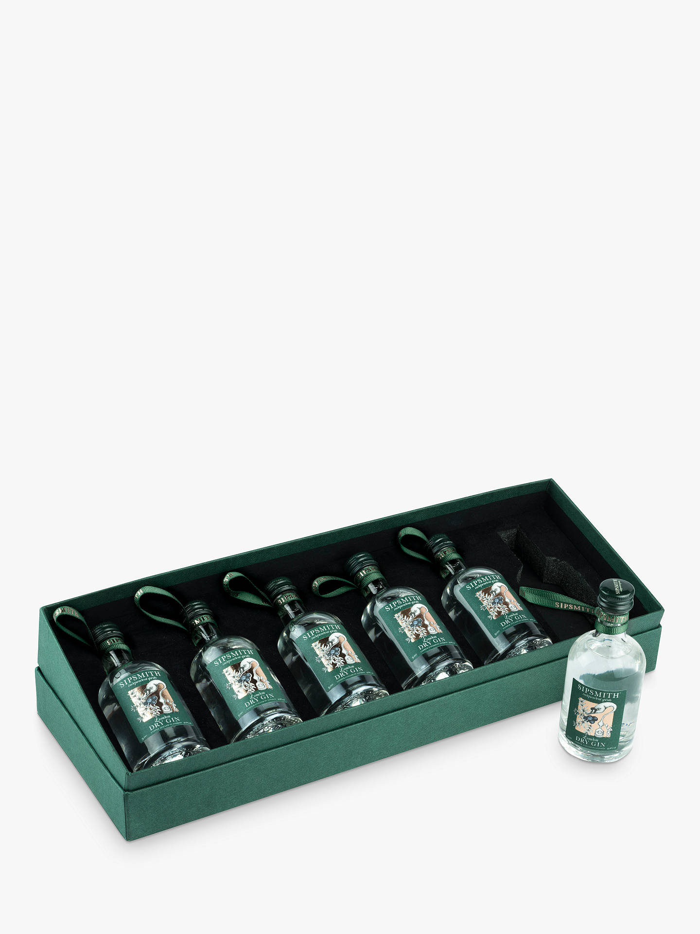 BuySipsmith London Dry Gin Baubles, Set of 6, 30cl Online at johnlewis.com