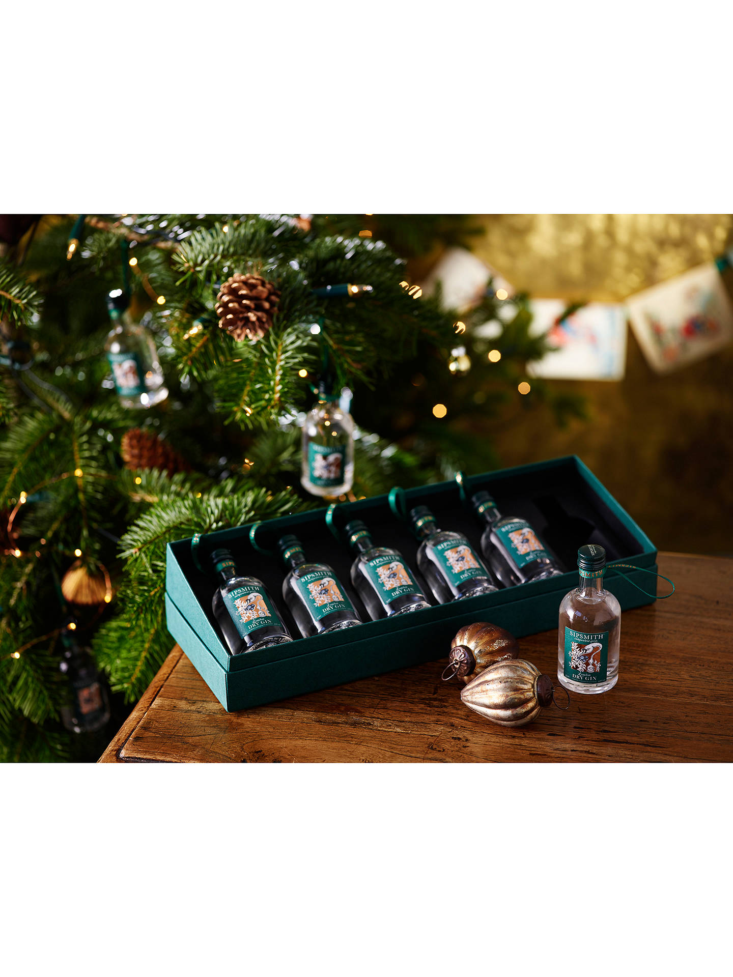 Buy Sipsmith London Dry Gin Baubles, Set of 6, 30cl Online at johnlewis.com
