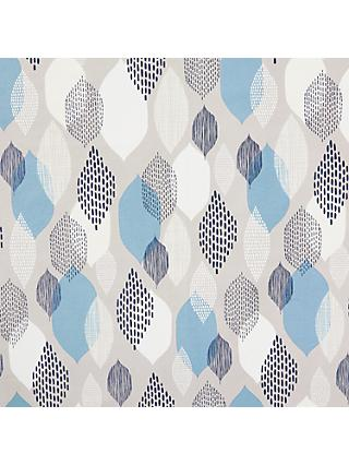 Cloud9 Modern AB Dotty Shapes Print Cotton Fabric, Blue Mix