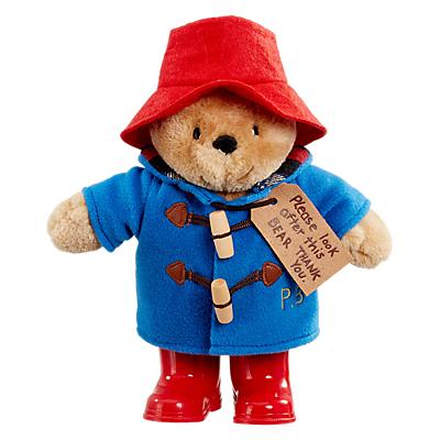 Image of Paddington Bear with Boots Soft Toy