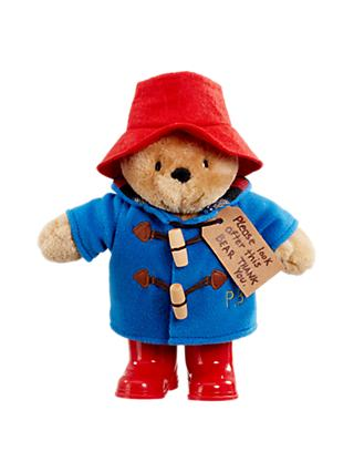 Paddington Bear with Boots Soft Toy