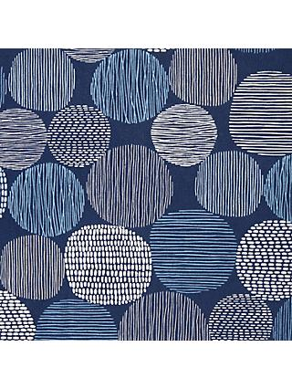 Cloud9 Modern AB Spots Print Cotton Fabric, Blue Mix