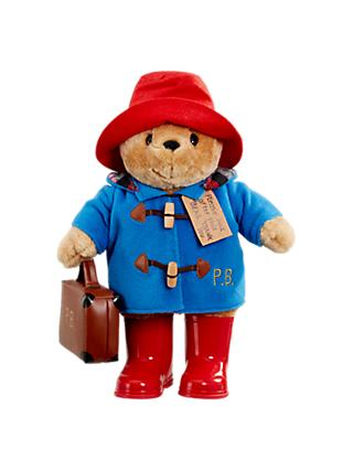 Paddington Bear with Boots and Suitcase Soft Toy, Large