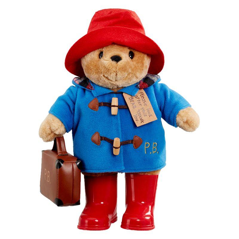 Paddington Bear Paddington Bear with Boots and Suitcase Soft Toy, Large