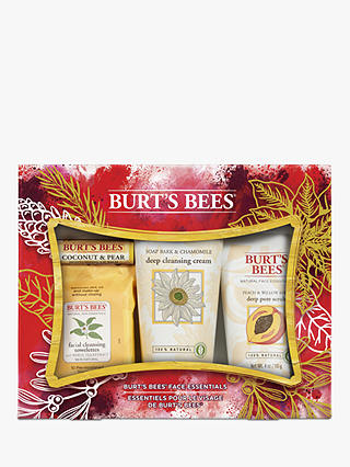 Buy Burt's Bees Face Essentials Gift Set Online at johnlewis.com