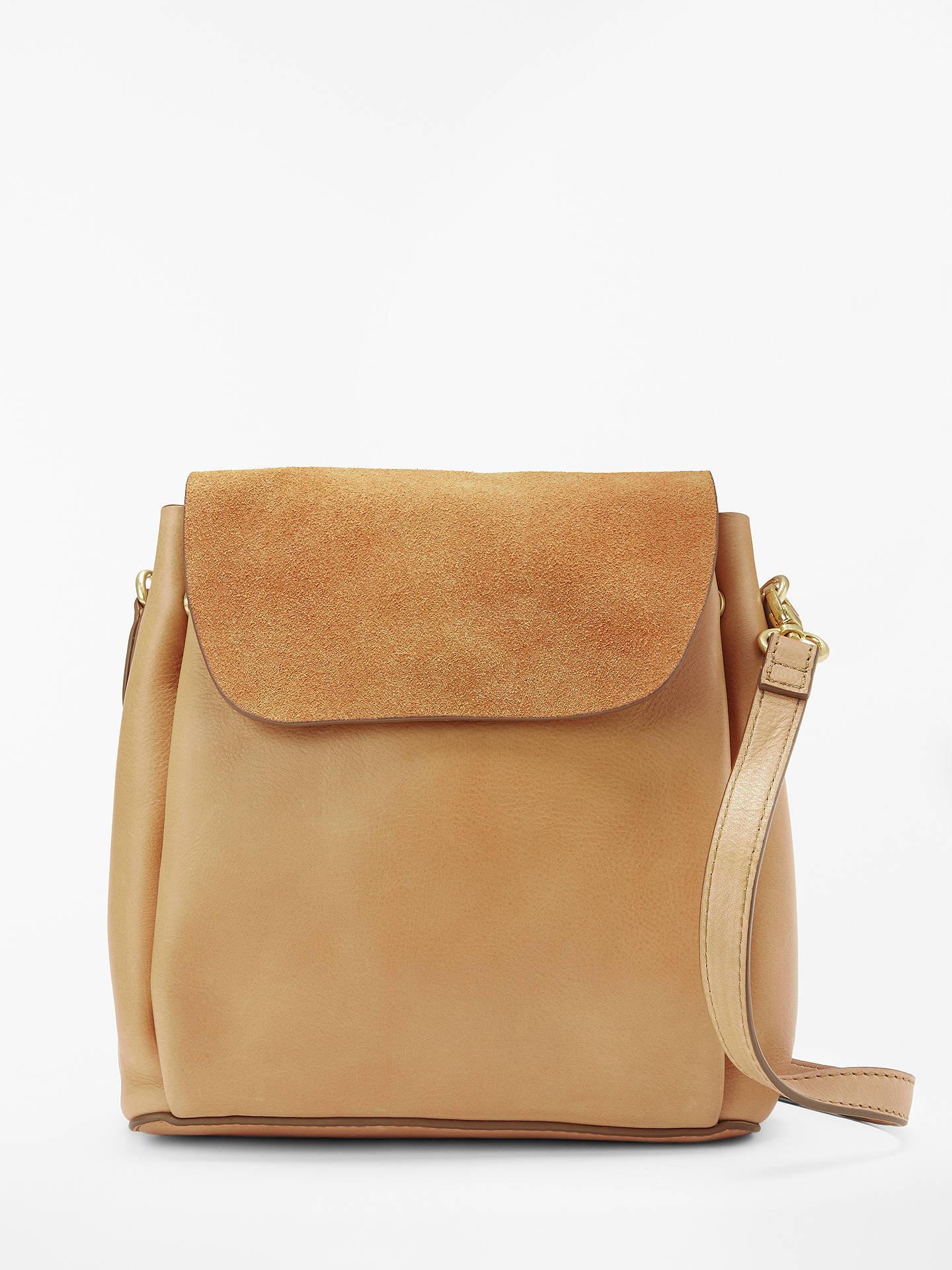 4bfc46bdd32 AND/OR Isabella Leather Mini Backpack Shoulder Bag, Brown