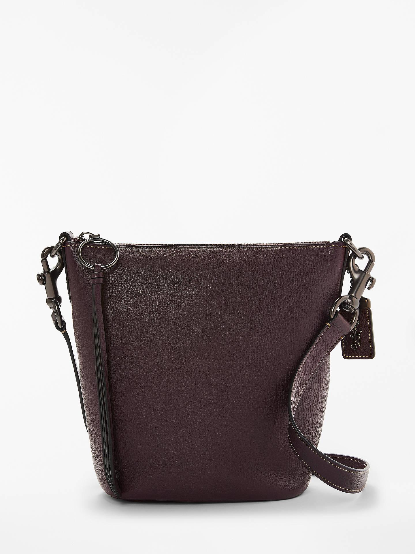 41dcedff6d Buy Coach Duffle 20 Leather Cross Body Bag