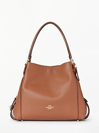 Coach E 31 Polished Pebble Leather Shoulder Bag