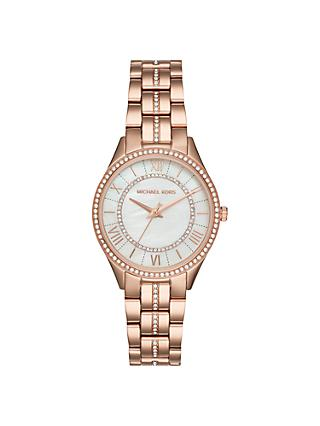 Michael Kors Women's Mini Lauryn Crystal Bracelet Strap Watch
