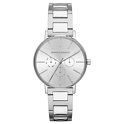 armani exchange men's single chronograph bracelet strap watch