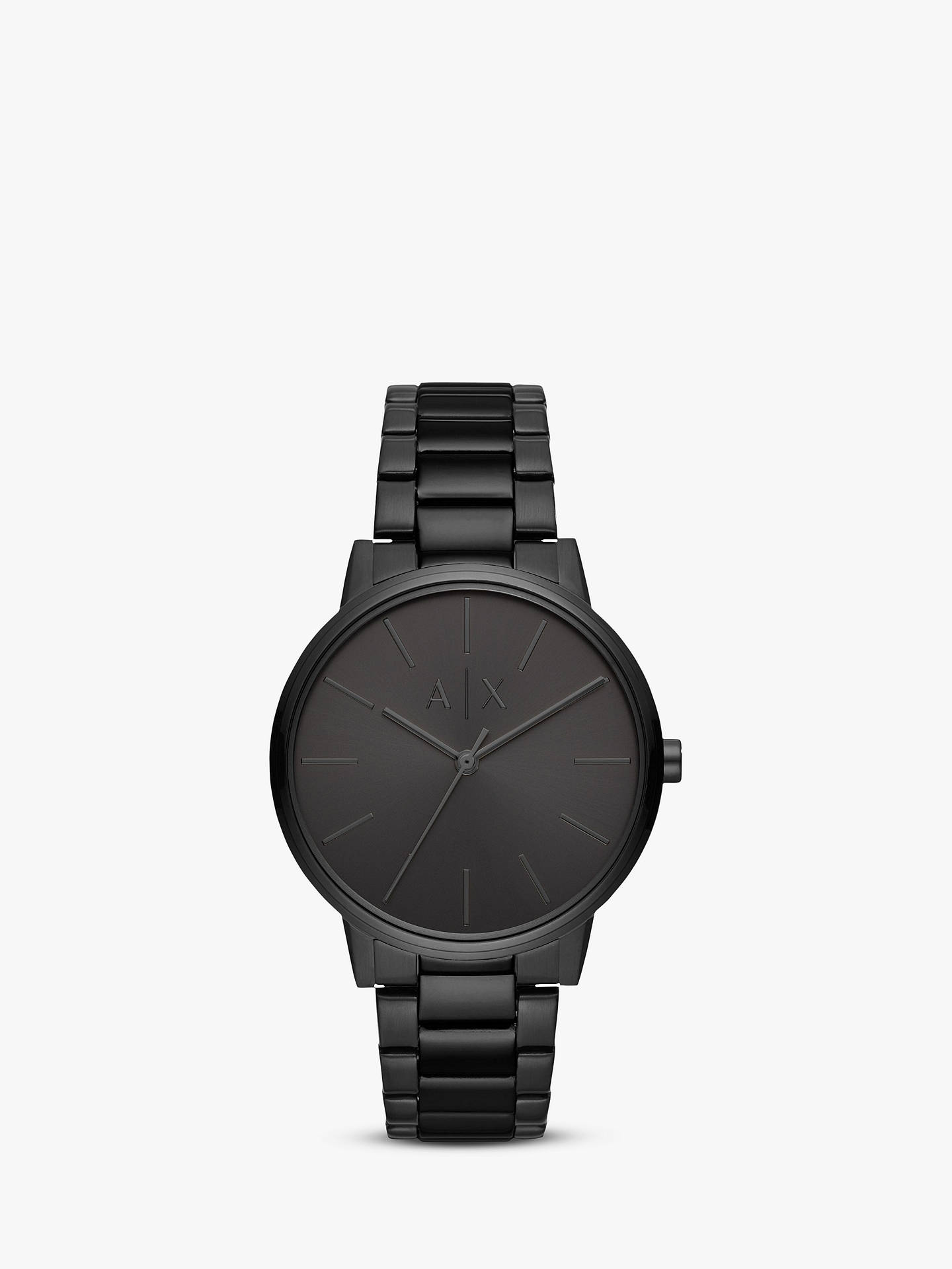 b5b6edb6293d Armani Exchange Men s Bracelet Strap Watch at John Lewis   Partners