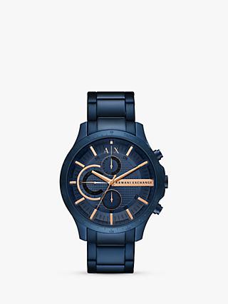 c109ef62a5d Armani Exchange Men s Chronograph Date Bracelet Strap Watch
